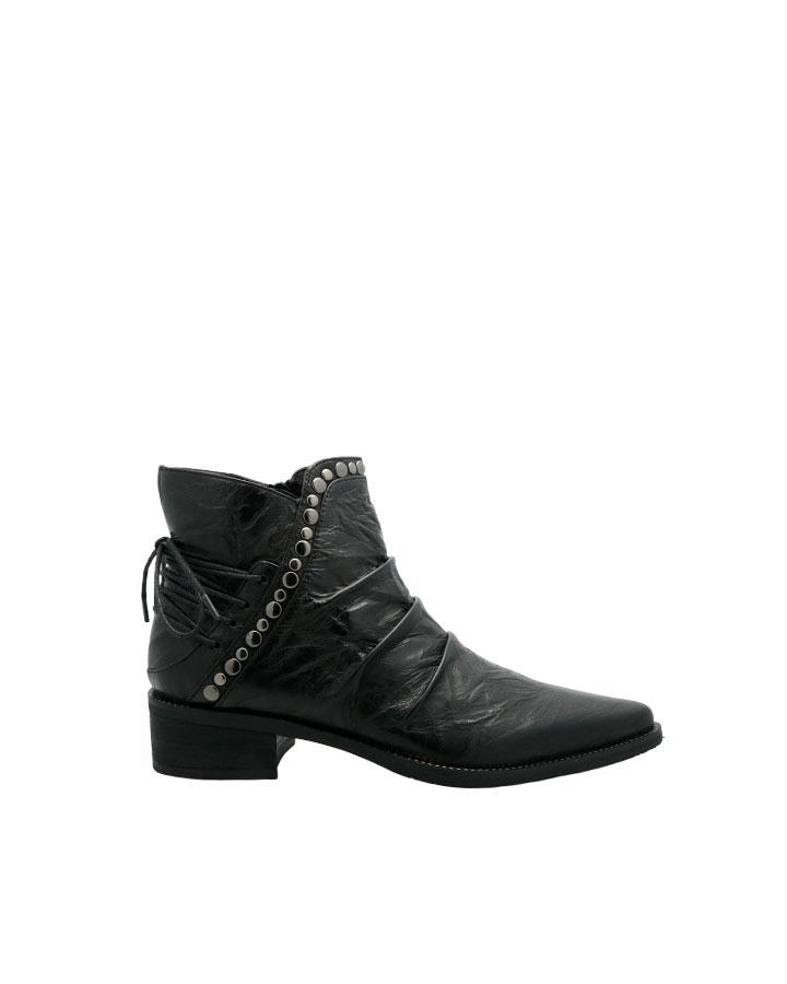 Biarrtiz boots rock cuir noir femme