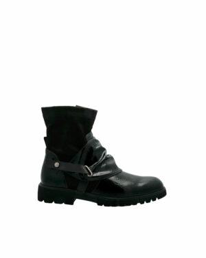 Cambo vernies noires boots sport casual pour femme