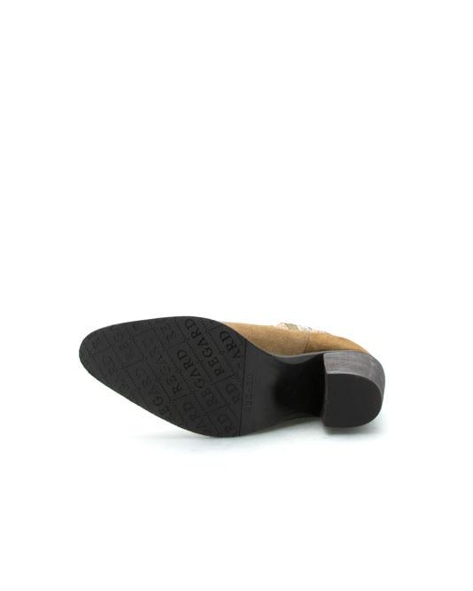 Boots Elche kaki velours originale