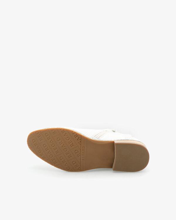 Boots originales Grives cuir argent
