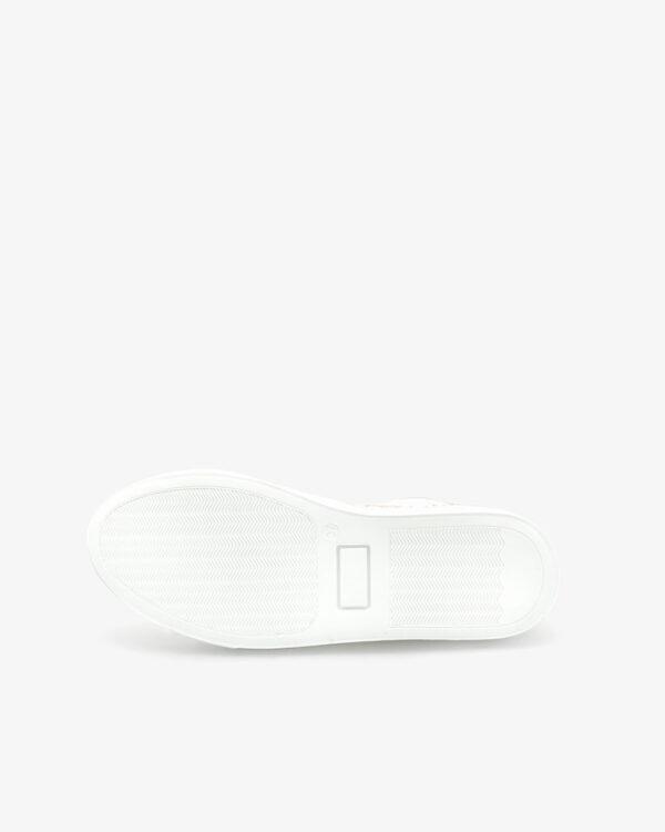 Baskets blanche safran Kifis Femme