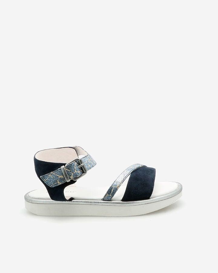 sandales femme tendance bleu