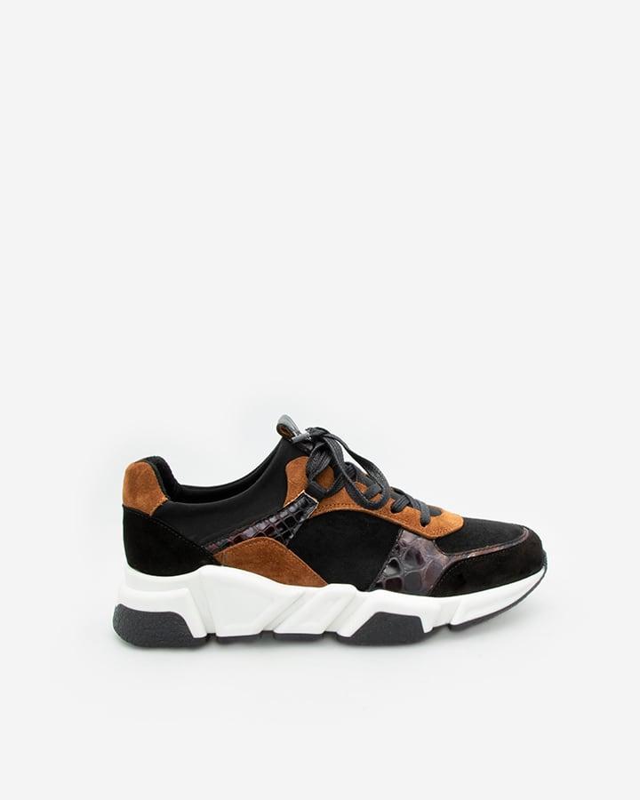 sneakers tendance femme cuir