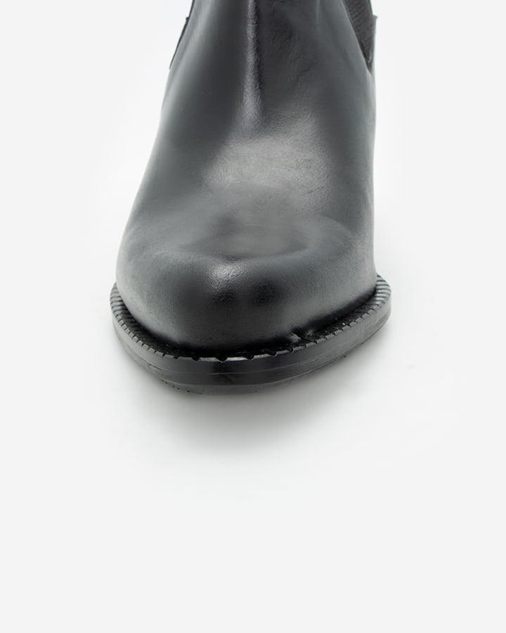 Bottines à talon noir femme Salto