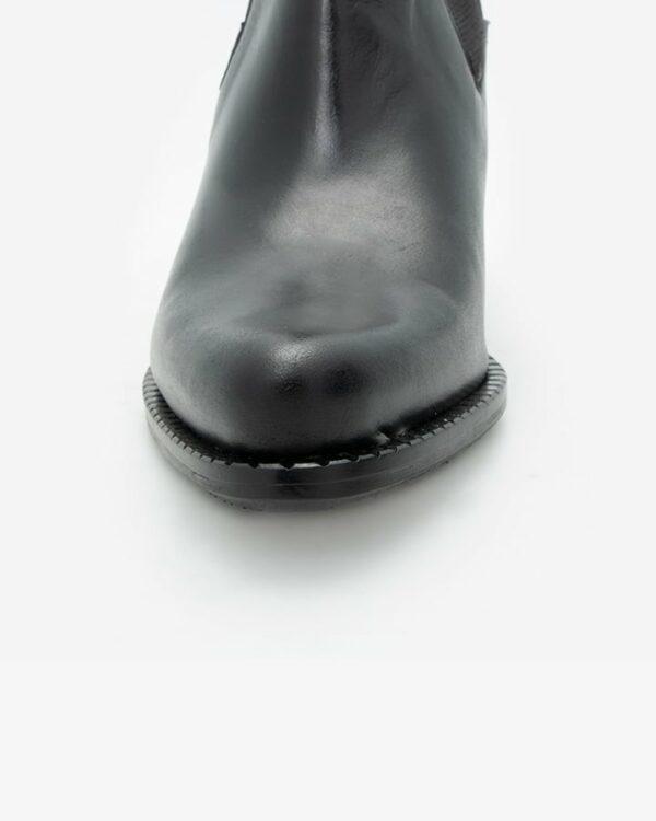 Bottines à talon noir femme