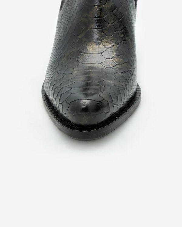 Bottines imprimé python femme Salto