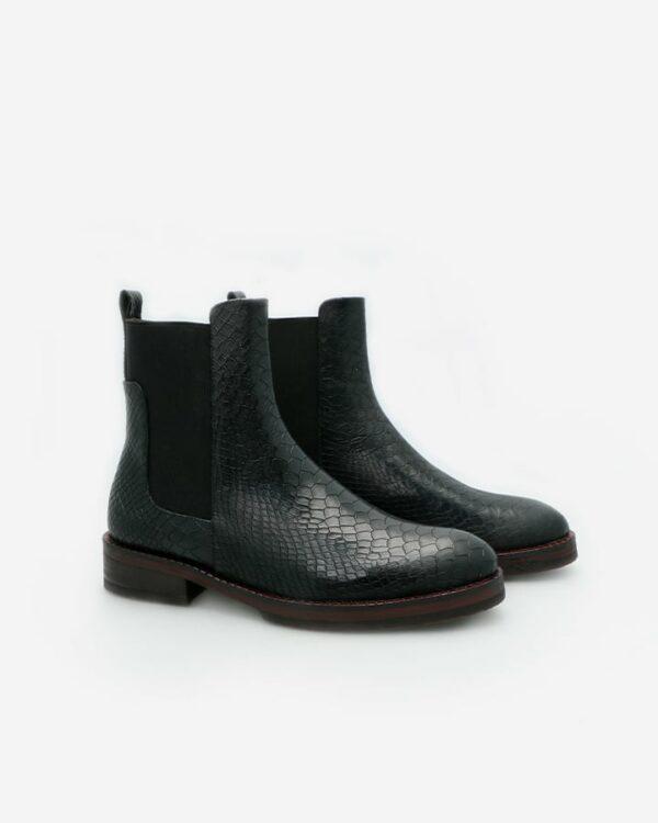 chelsea boots noir femme