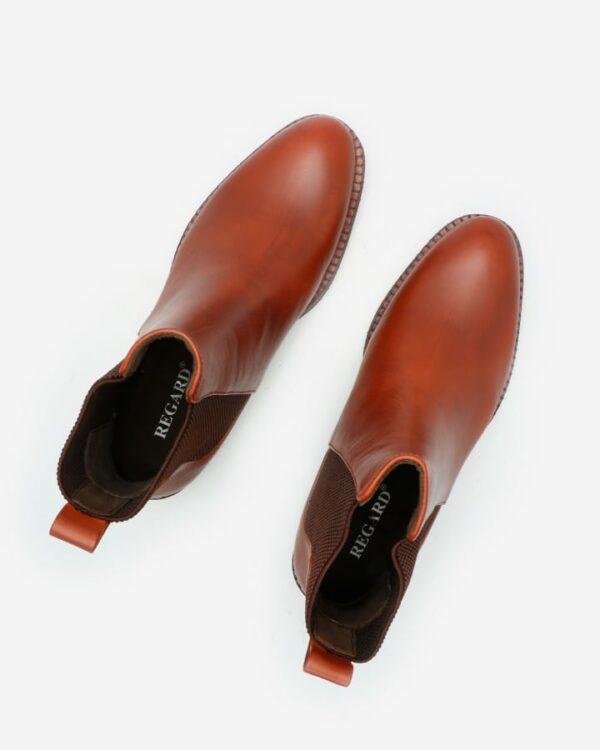 chelsea boots camel femme