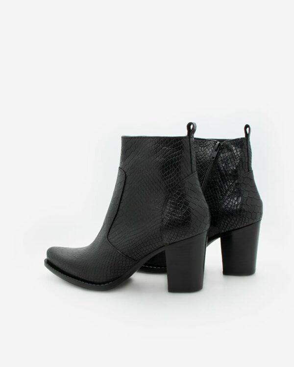 boots talons femme noir Sally